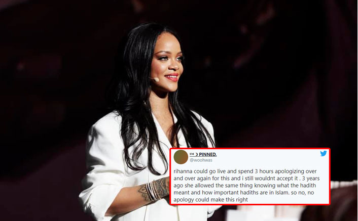 Rihanna Receives Massive Backlash On Twitter For Using Hadith Verses At Her Fashion Show(Pic credit: Facebook/Rihanna)