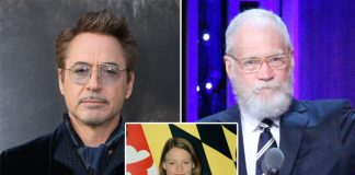 Robert Downey Jr Reveals To David Letterman About Jodie Foster's Letter To Him While He Was In Prison