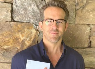 Ryan Reynolds on casting his vote for first time in the US