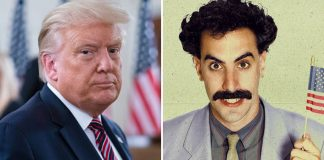 "Sacha Baron Cohen Reacts To Donald Trump's 'Not Funny' Remark: ""I'm Always Looking For People To Play Racist Buffoons.."""