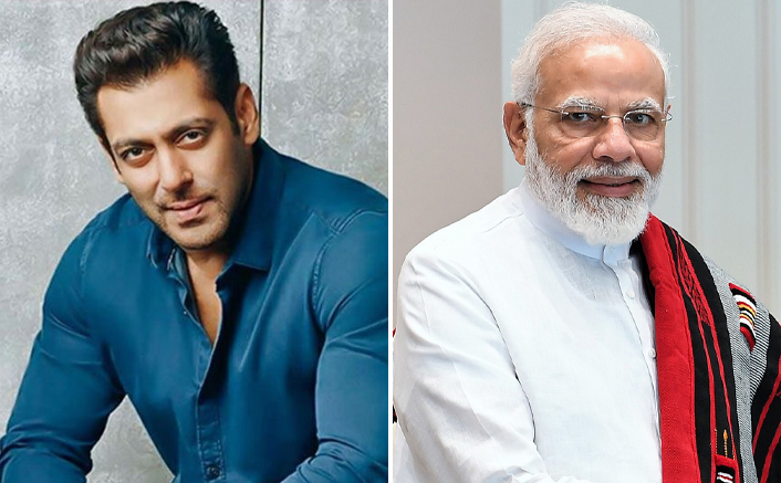 "Salman Khan Supports PM Modi's Jan Andolan Campaign; Netizens Ask, ""Why Not A Word On Serious Issues?"""
