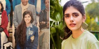 Sanjana Sanghi celebrates as her alma mater turns 100