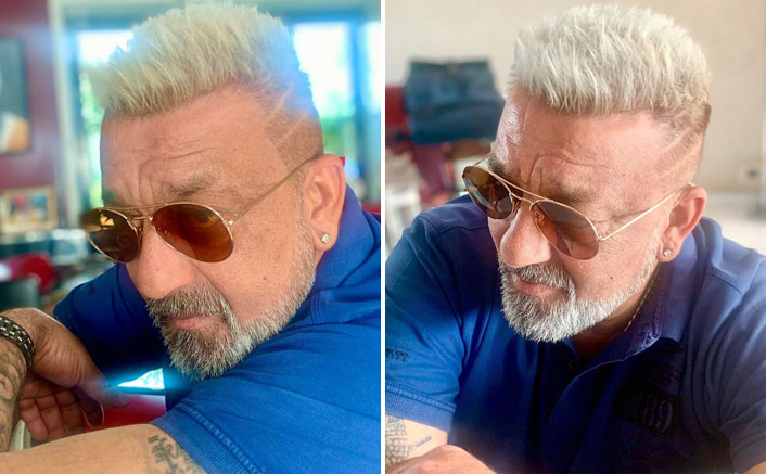 Sanjay Dutt Gets A Platinum Blonde Makeover Post Cancer Recovery; Damn, Is He Really 61?