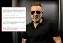 Sanjay Dutt Has A BIG UPDATE For His Fans, He Is Cancer Free Now