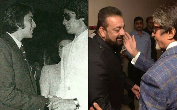Sanjay Dutt Thanks Amitabh Bachchan For His Love & Guidance, Shares A Throwback Pic With Big B