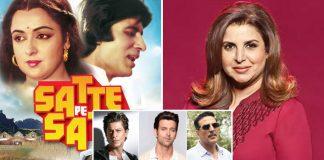 Satte Pe Satta Remake: After Approaching Shah Rukh Khan, Akshay Kumar & Others, Farah Khan Has Finally Dropped The Idea?