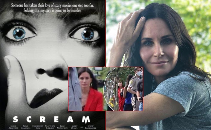 Scream 5: Courteney Cox Looks Stellar As Gale Riley In These On-Set Pictures