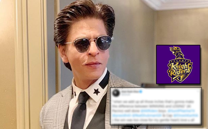 Shah Rukh Khan Goes The Al Pacino Way To Congratulate Kolkata Knight Riders On Their Victory