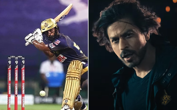 "Shah Rukh Khan Made Fun Of Rahul Tripathi At KKR's Anthem Launch Says: ""You still have to score 158 runs"""