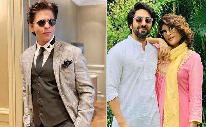 Shah Rukh Khan Reveals Ayushmann Khurrana & Tahira Kashyap's Favourite Make-Out Spot Was In Theatres Watching His Films!