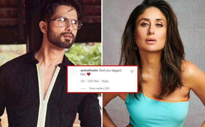 Kareena Kapoor Khan Tags Shahid Kapoor On Jab We Met Post, Netizens Are In Disbelief!
