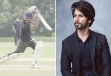 Shahid Kapoor posts glimpse of early morning cricket practice