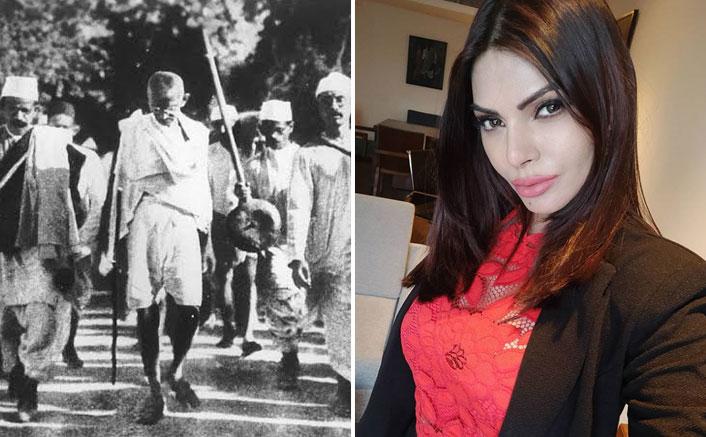 Sherlyn Chopra Celebrates Gandhi Jayanti With A Powerful Message