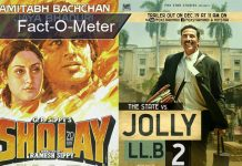sholays-one-song-a-scene-took-more-time-than-akshay-kumars-jolly-llb-2-entire-shoot-fact-o-meter