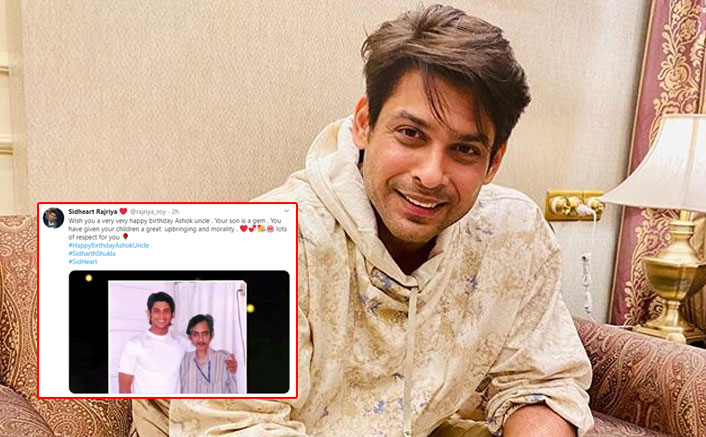 Sidharth Shukla Fans Trend #HappyBirthdayAshokUncle On His Late Father's Birthday; Could There Be A Better Tribute?