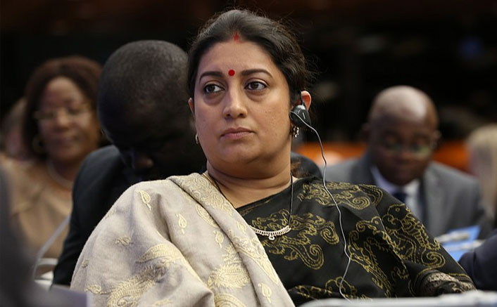 Smriti Irani Is COVID-19 Positive, Requests Those Who Came In Contact With Her To Get Themselves Tested