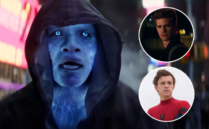 Spider-Man 3 fan Art: Tom Holland Replaces Garfield Against Jamie Foxx's Electro(Pic credit: Movie Stills)