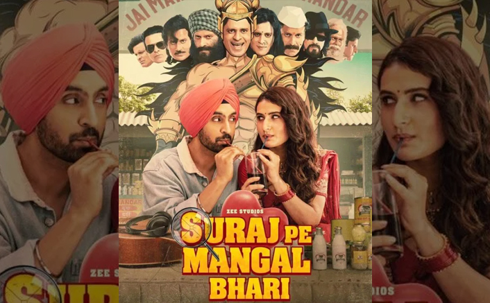 Suraj Pe Mangal Bhari Trailer OUT! Manoj Bajpayee, Diljit Dosanjh & Fatima Sana Shaikh's Film Has Laugh Riot Written All Over It