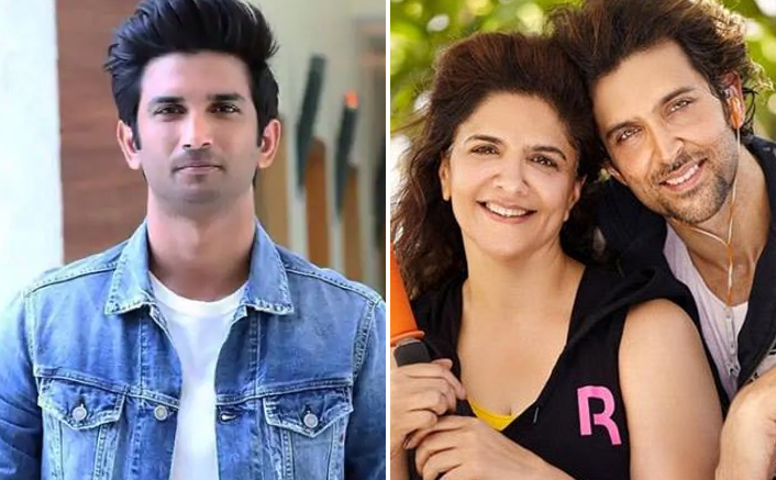 Hrithik Roshan's Mother Pinkie Roshan Shares Sushant Singh Rajput's Pic With A Cryptic Message