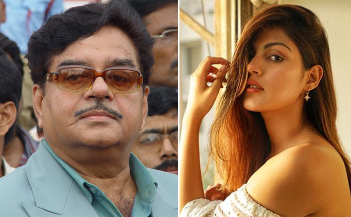 """Shatrughan Sinha On Rhea Chakraborty: """"She Must Not Be Judged By…"""""""