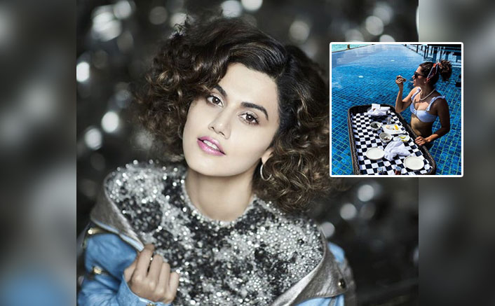 Taapsee Pannu Is Having Time Of Her Life In The Maldives, PICS Inside(Pic credit: Instagram/taapsee)