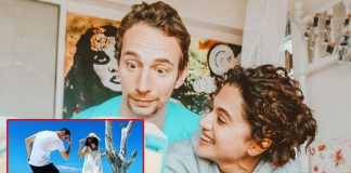Taapsee Pannu's New Picture With Rumoured Boyfriend Mathias Boe From Maldives Vacation Goes Viral