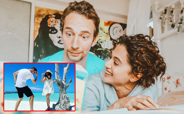 Mathias Boe Shares RARE Pic With Taapsee Pannu From Maldives Vacay & We Love Their Fun Chemistry!