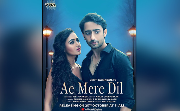 Ae Mere Dil First Poster OUT: Shaheer Sheikh & Tejasswi Prakash's Crackling Chemistry Shouldn't Be Missed!