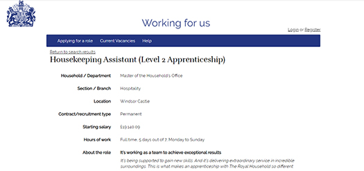 The British Royal Family Is Looking For A Housekeeping At Windsor Castle& Are Willing To Pay THIS Amount For It