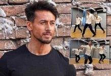 "Tiger Shroff is ""jamming' and dancing to his own tunes with the new school brothers"