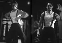 Tiger Shroff passes on his shades for the 'Unbelievable' challenge