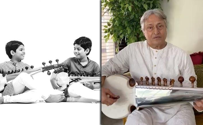 Ustad Amjad Ali Khan's grandsons make musical debut on his b'day