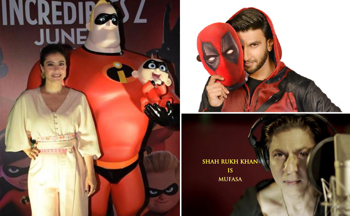 From Ranveer Singh As Deadpool To Shah Rukh Khan As Mufasa, 5 Times Bollywood Stars Dubbed For Global Content