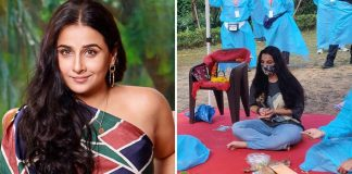 Vidya Balan Is Back On Sets Of Sherni, Resumes Shoot In Madhya Pradesh