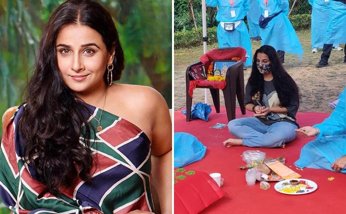 Vidya Balan Is Back On Sets Of Sherni, Resumes Shoot In Madhya Pradesh