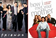When FRIENDS Met How I Met Your Mother - #ThrowbackThursday