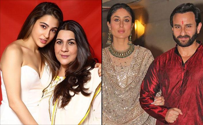 Sara Ali Khan Reveals How Amrita Singh Reacted To Saif Ali Khan & Kareena Kapoor Khan's Wedding