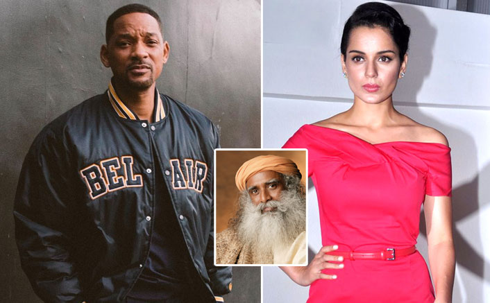 Will Smith Shares Dinner Video With Sadhguru, Kangana Ranaut Praises The Actor's Spirituality!