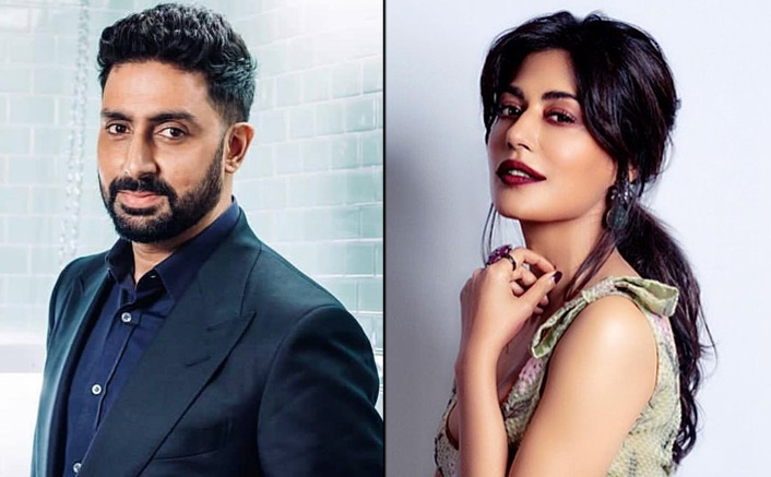 Abhishek Bachchan & Chitrangada Singh Clicked On The Sets Of Bob Biswas