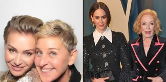 After Her Own Marriage Made Headlines For Trouble, Ellen DeGeneres Takes A Dig At Sarah Paulson & Holland Taylor's Relationship