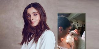 Alia Bhatt shares a picture with her muse