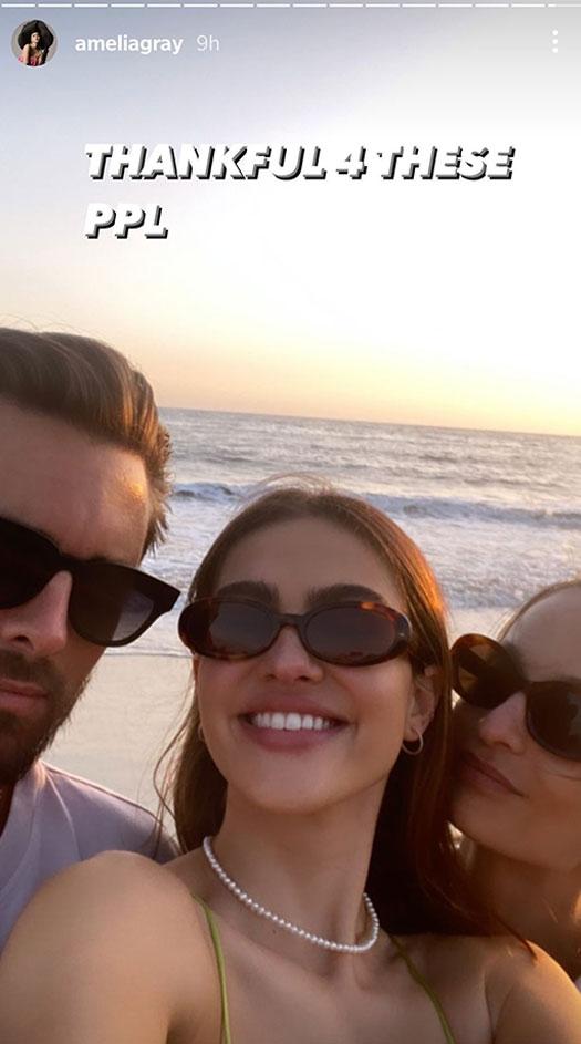 Amelia Hamlin's Instagram Post Thanking Scott Disick Is Hinting At Their Affair?