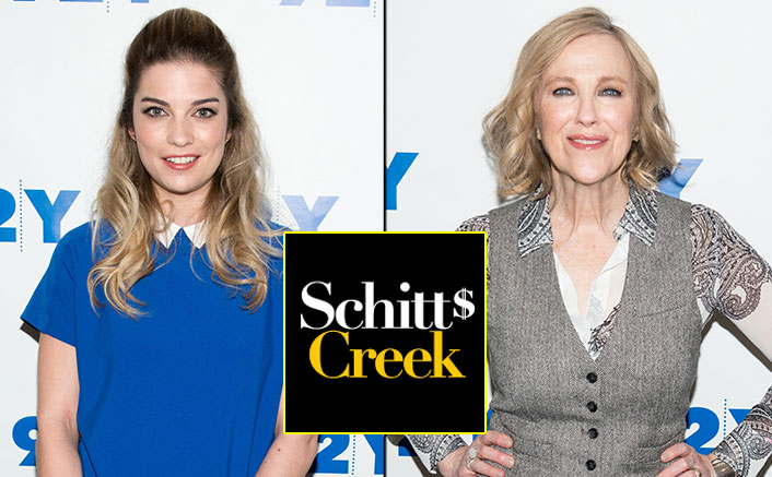 Annie Murphy AKA Alexis Rose & Catherine O'Hara AKA Moira Rose In This Mini Schitt's Creek Reunion Are 'Up For Anything'