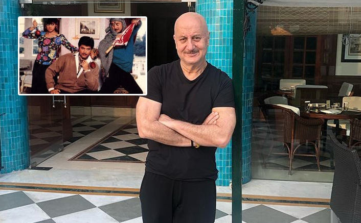 Anupam Kher shares shooting experience of Sridevi-starrer 'Lamhe'(Pic credit: Instagram/anupampkher)