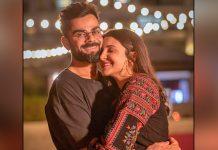 Anushka Sharma & Virat Kohli look adorable at cricketer's birthday bash