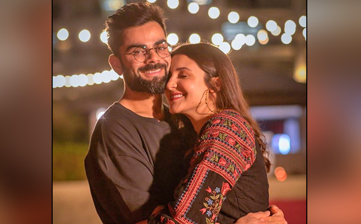 Anushka Sharma & Virat Kohli look adorable at cricketer's birthday bash