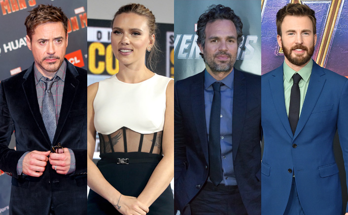 Avengers Assemble To Wish Mark Ruffalo & Scarlett Johansson(Pic credit: Getty Images)