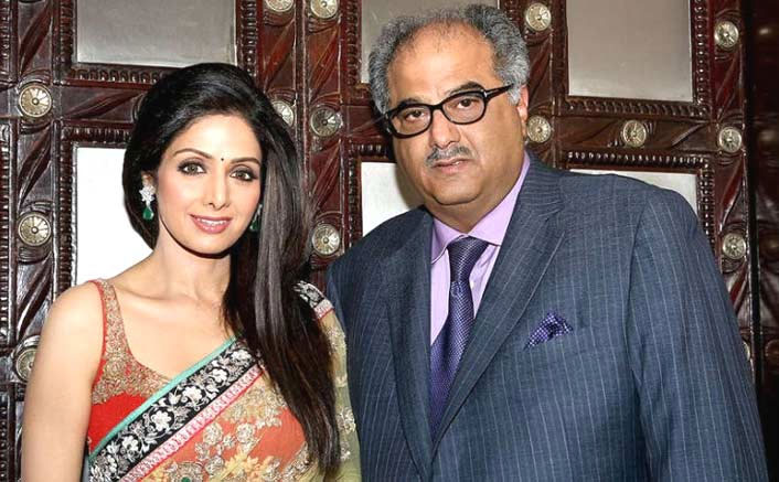 Boney Kapoor & late wife Sridevi