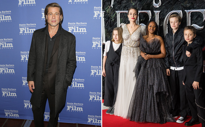 Brad Pitt & Angelina Jolie Fear Their Kids Getting Kidnapped(Pic credit: Getty Images)