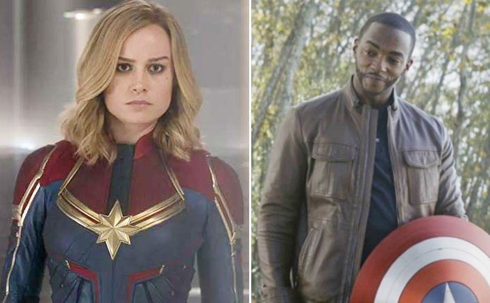 Brie Larson aka Captain Marvel Might Have A Face-Off With Captain America aka Anthony Mackie